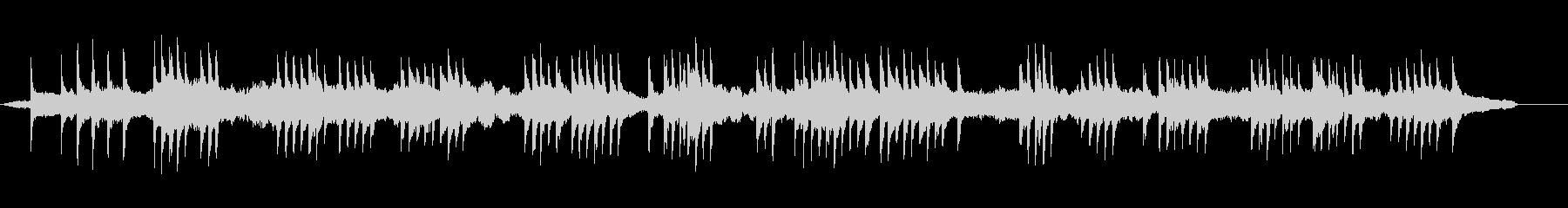 モダンな琴と弦楽器の和風BGMの未再生の波形