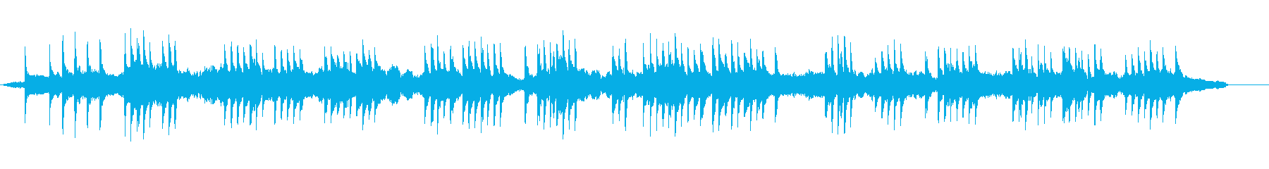 モダンな琴と弦楽器の和風BGMの再生済みの波形