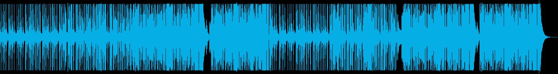 K-POP/チル&激しいダンスポップ展開の再生済みの波形