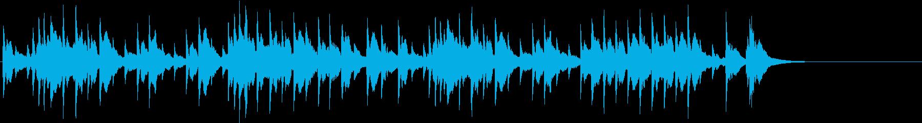 春の歌 メンデルスゾーン オルゴールの再生済みの波形