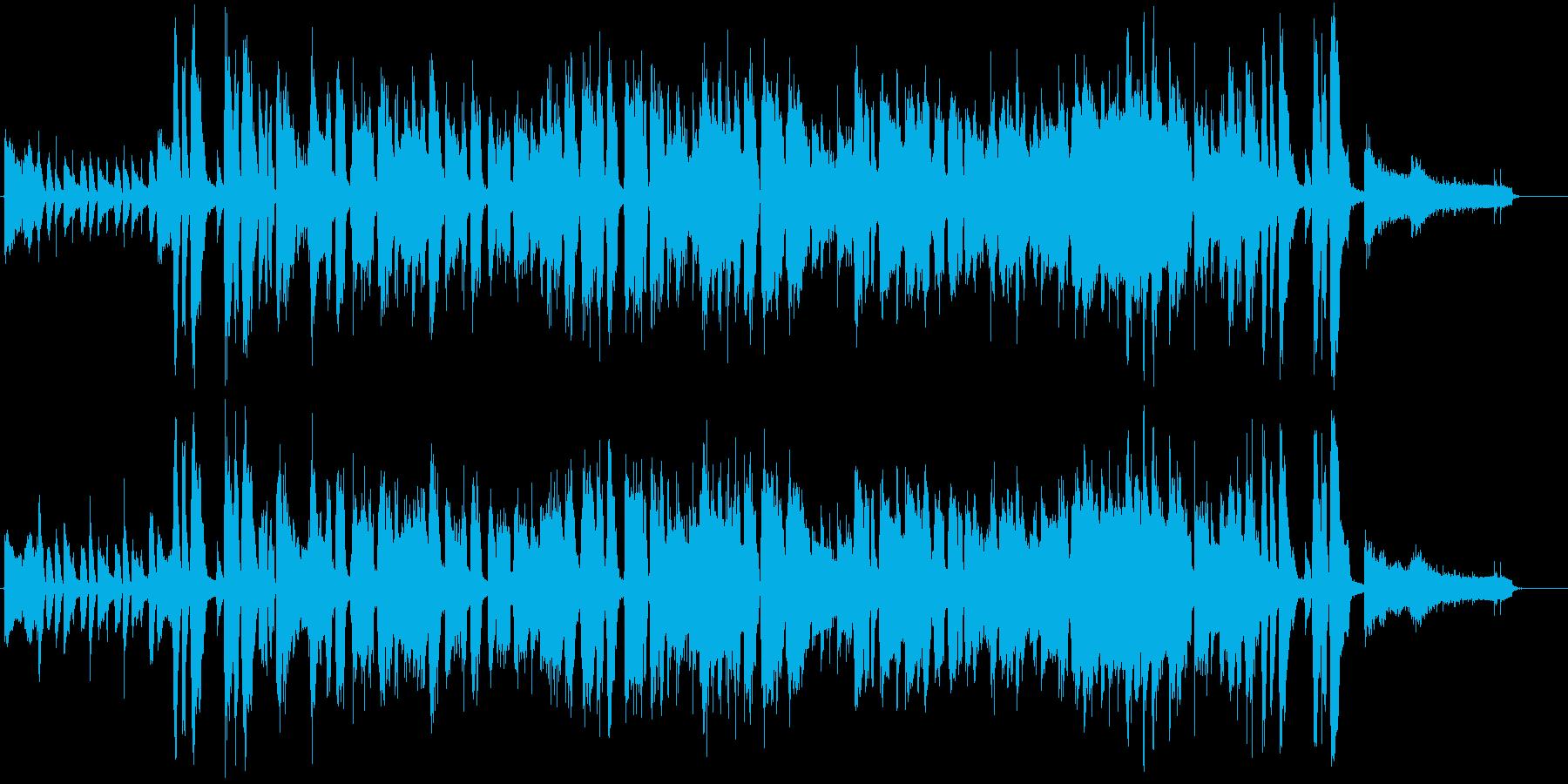 かぼちゃをテーマにした楽曲の再生済みの波形