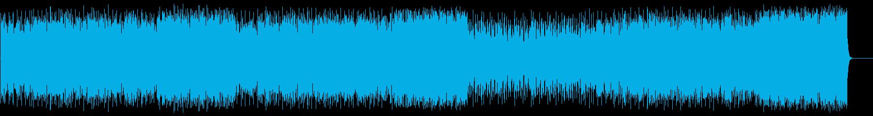前進する力強いポップ(フルサイズ)の再生済みの波形
