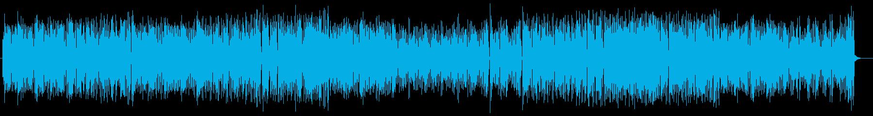 ゆったりとした幻想的なミュージックの再生済みの波形