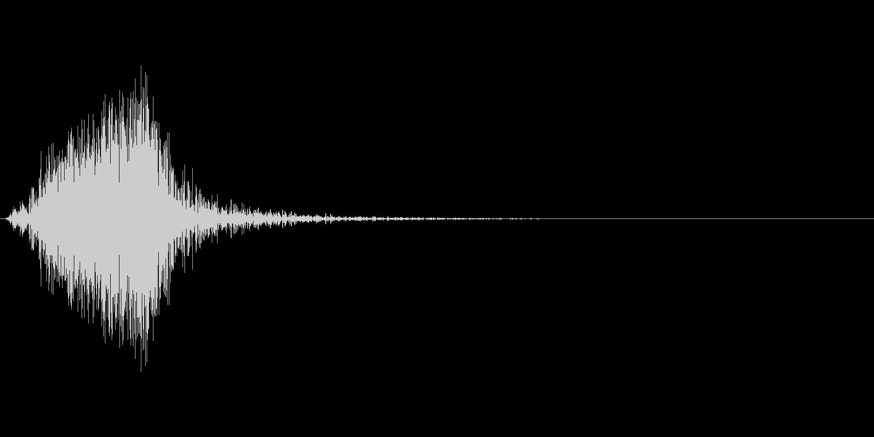 【SE】風切り音片手剣、ソード等03の未再生の波形