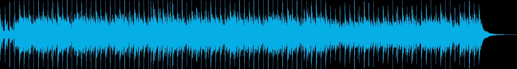 荘厳な雰囲気のオーケストラ風BGMの再生済みの波形