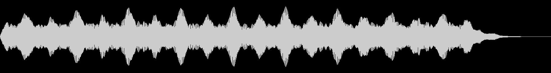 ブーン:不穏なイメージのシンセベースの未再生の波形