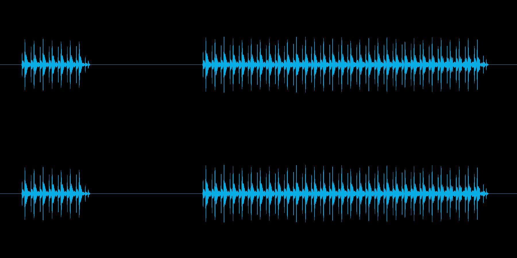 ゲーム、クイズ(ブー音)_004の再生済みの波形