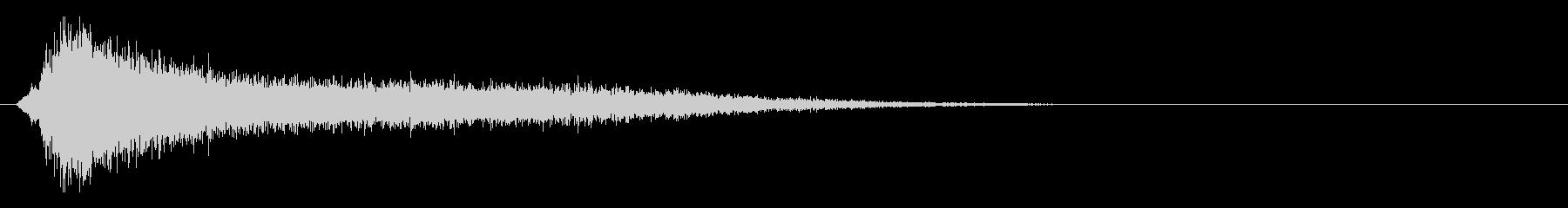 サスペンスピアノ音_3-2の未再生の波形