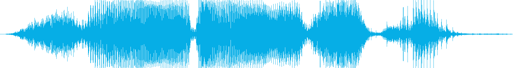終了しましたの再生済みの波形