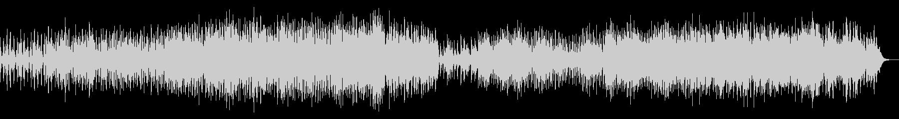 陰鬱なテクスチャのアンビエントIDMの未再生の波形