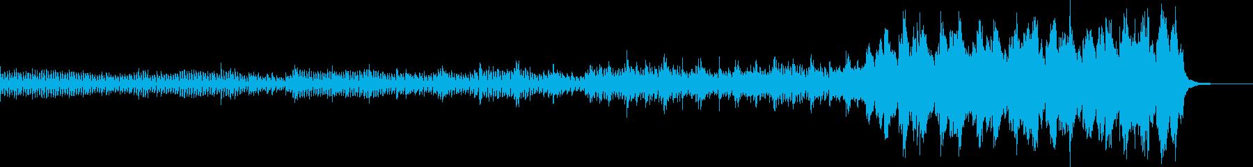運転オーケストラキュー。弦楽器と打...の再生済みの波形