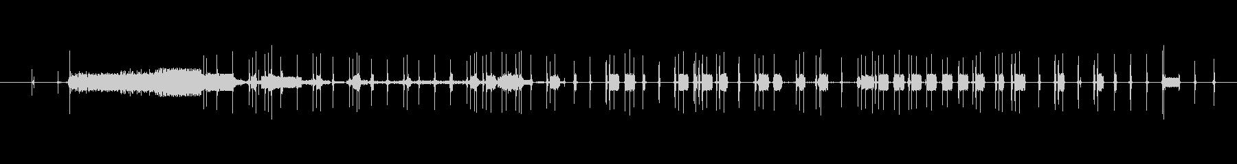 アナログな電子音でLOFIサウンドの未再生の波形