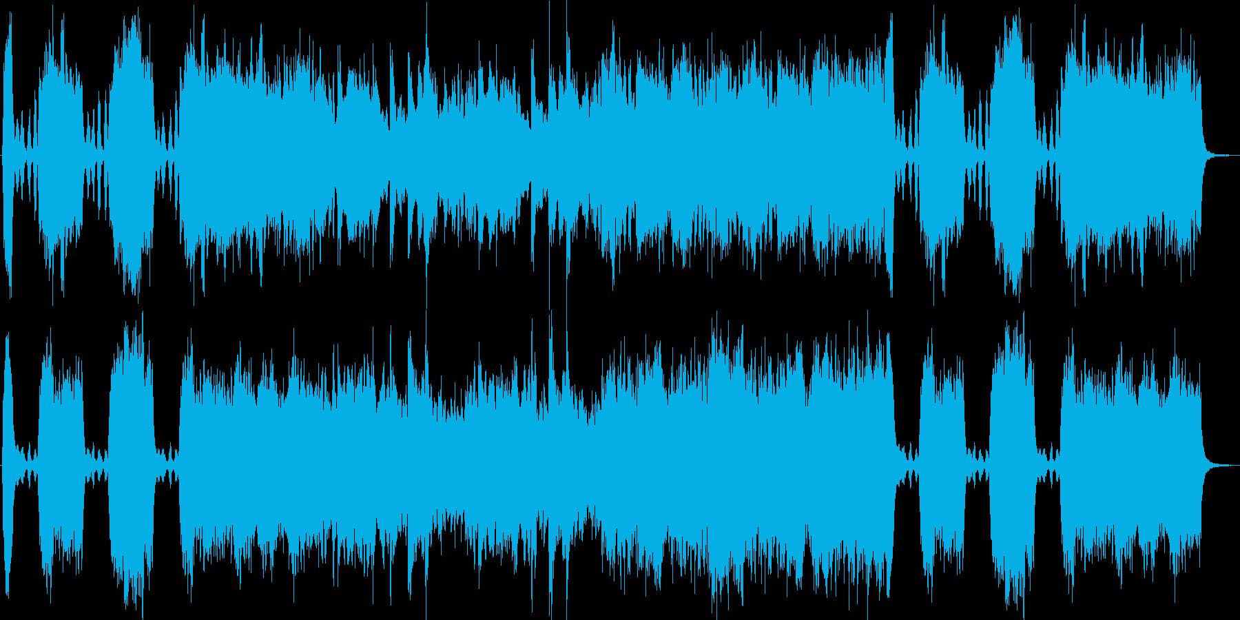 ファンタジーRPGなどの豪華なお城をイ…の再生済みの波形