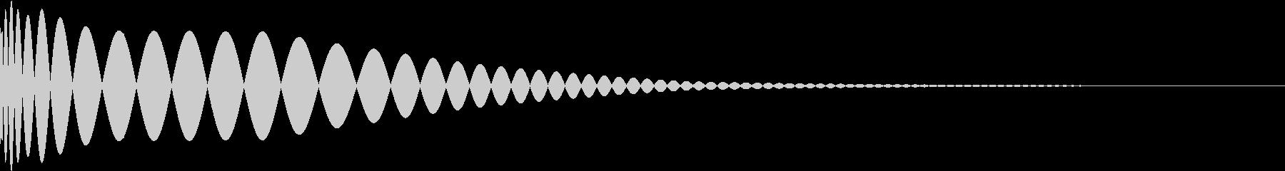 DTM Kick 62 オリジナル音源の未再生の波形