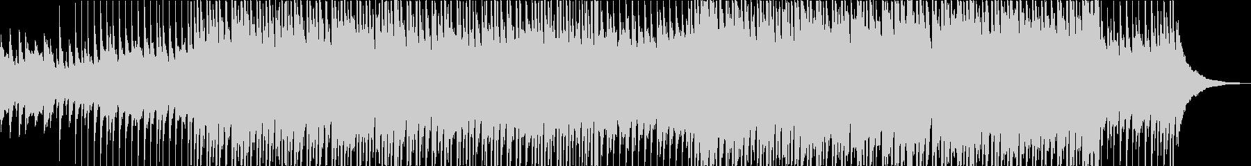マリンバの可愛いアコースティックポップの未再生の波形