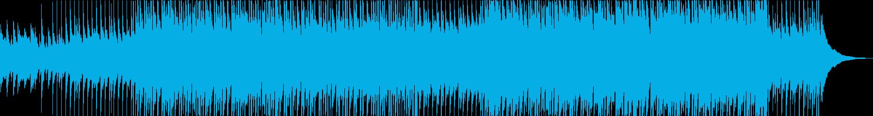 マリンバの可愛いアコースティックポップの再生済みの波形