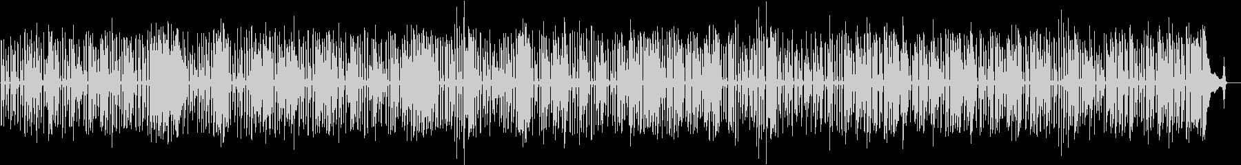 ワクワクするCM・軽快なソロジャズピアノの未再生の波形