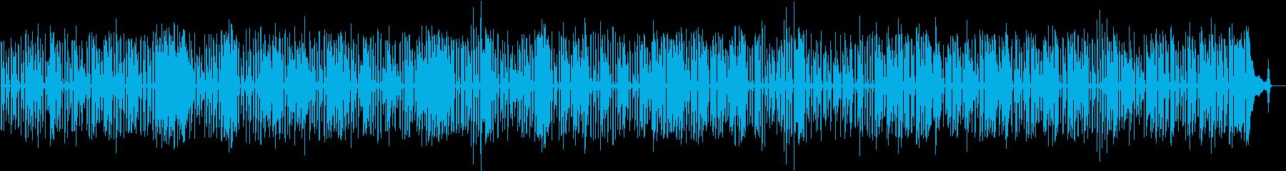 ワクワクするCM・軽快なソロジャズピアノの再生済みの波形