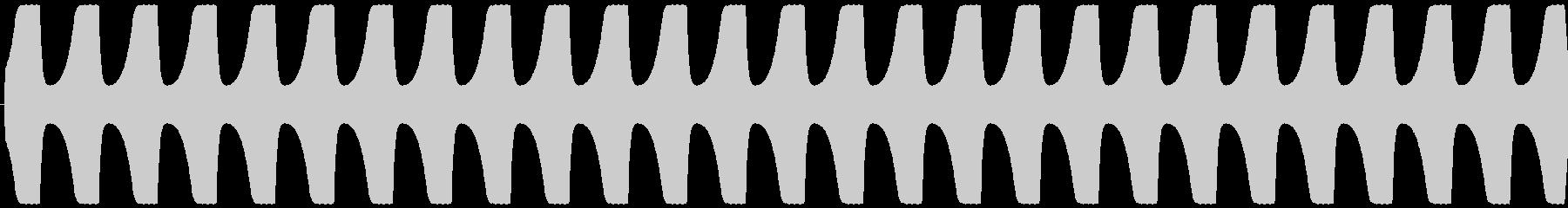 ゲームテキスト効果音A-9(高め 長い)の未再生の波形