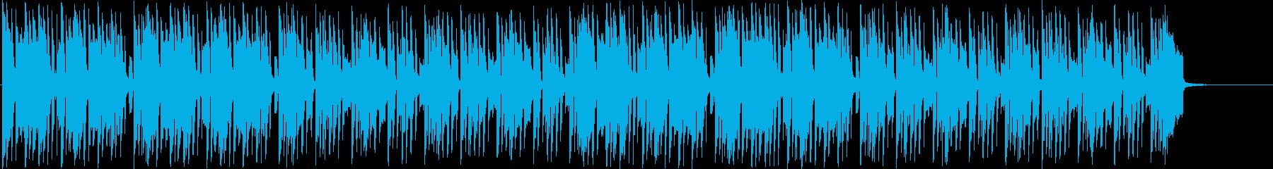 HIP HOP 風 EDM OP ED の再生済みの波形
