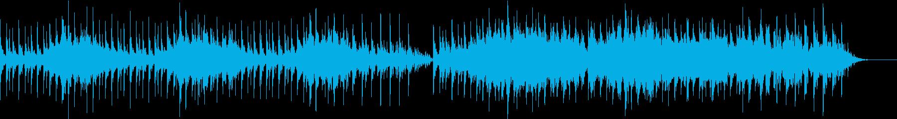 ストリングスメインのアンビエントの再生済みの波形
