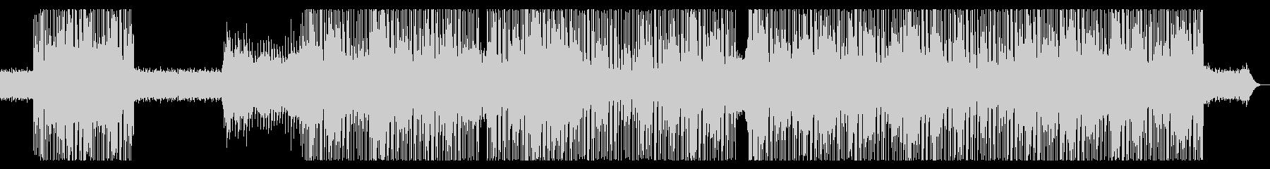 80s レトロ・シンセポップ、インストの未再生の波形