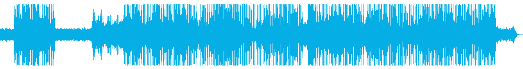 80s レトロ・シンセポップ、インストの再生済みの波形