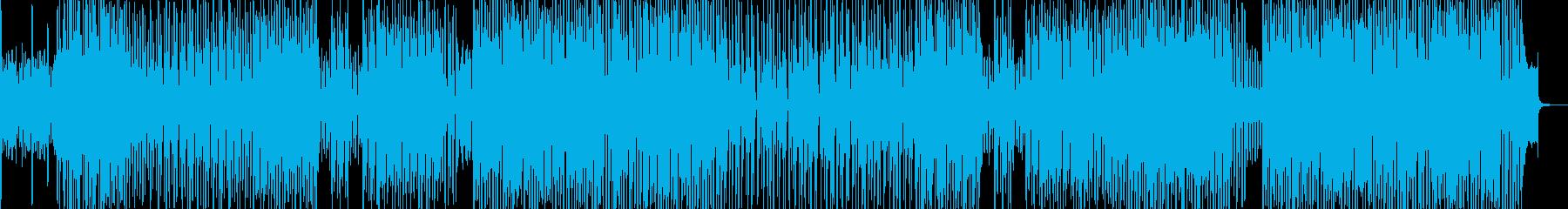 トロピカルな雰囲気に合うテクノ 長尺★の再生済みの波形