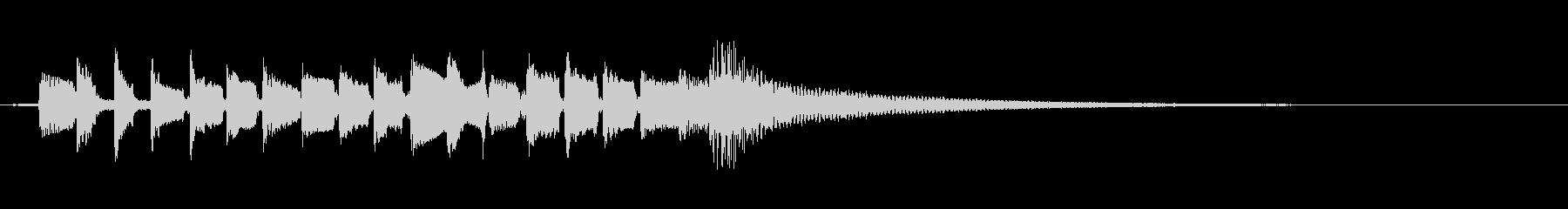 アコースティックギターブルースのス...の未再生の波形