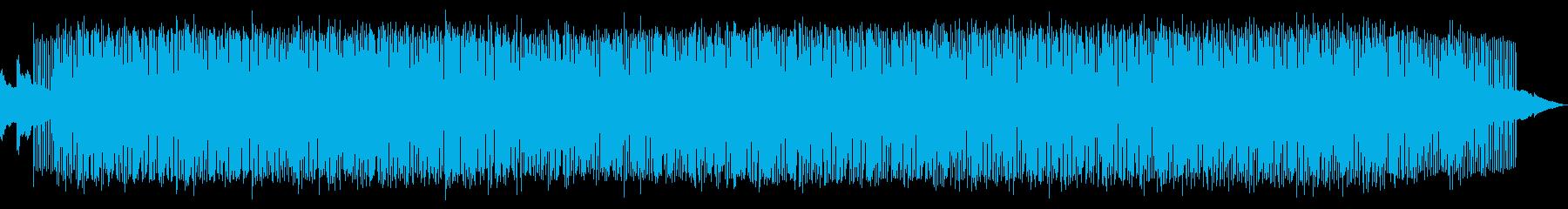 瑞々しいピアノディープハウスの再生済みの波形