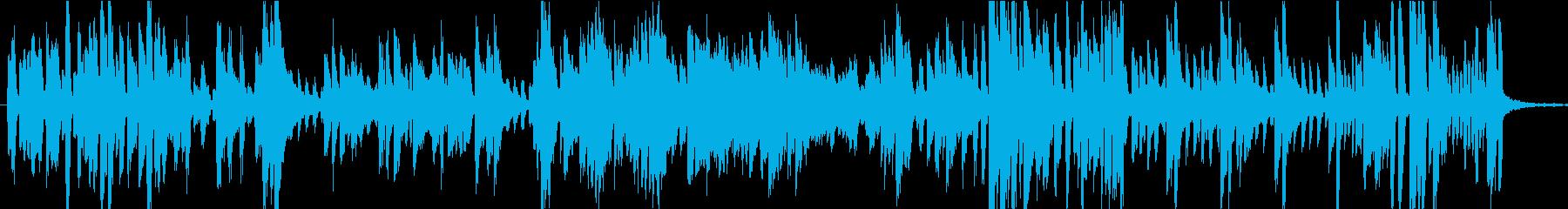 おしゃれでかっこいいピアノジャズの再生済みの波形