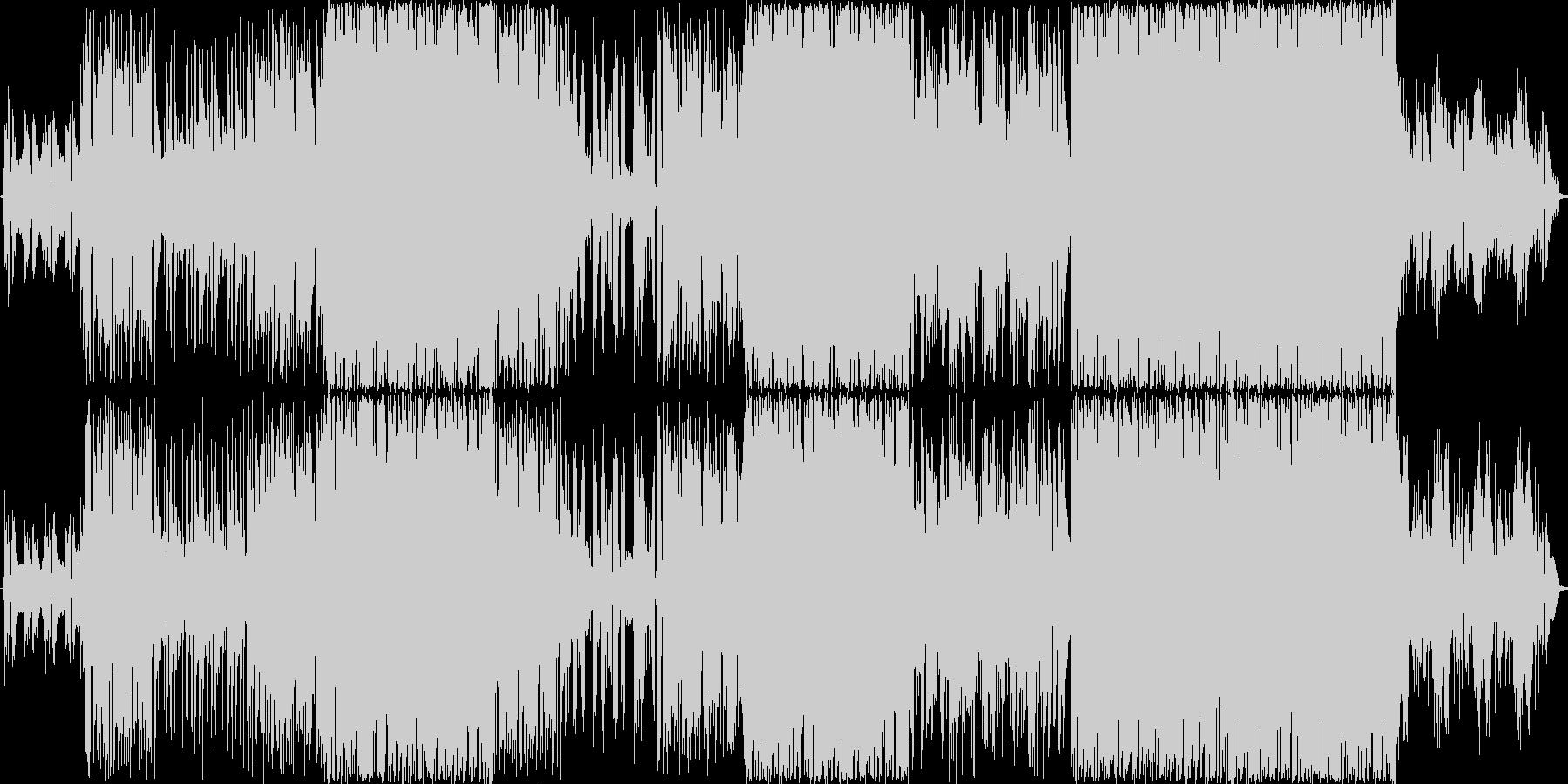 落ち着いたクールで切ないギターインストの未再生の波形