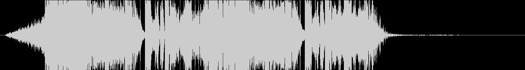 DUBSTEP かっこいい ジングル25の未再生の波形