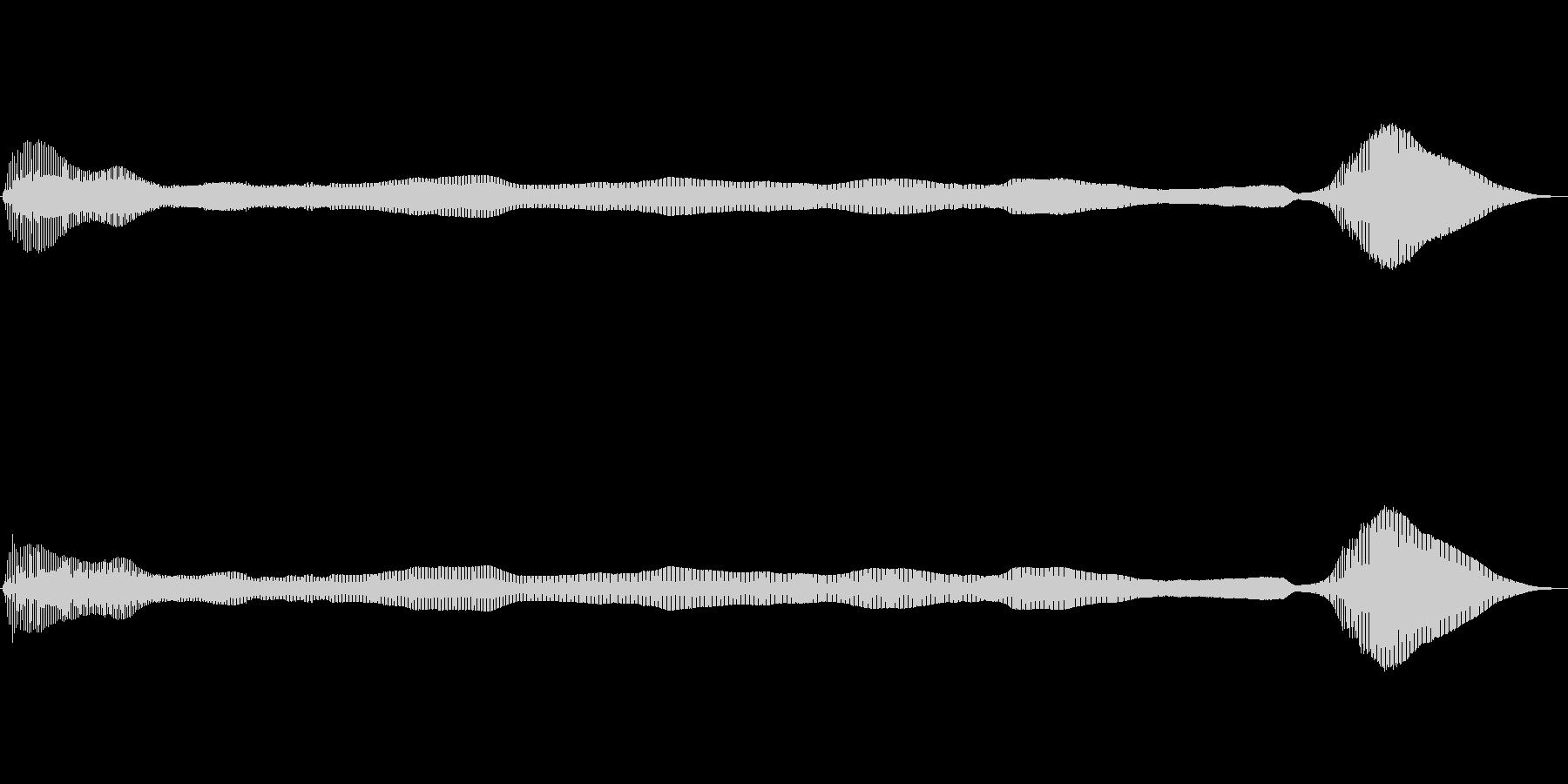 長めでダイナミクスがある屁の未再生の波形