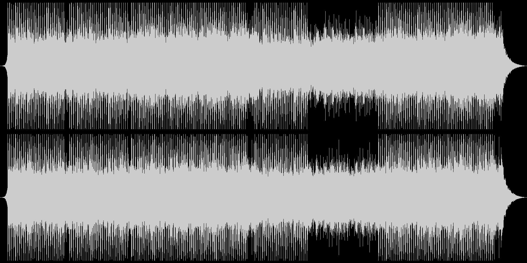 感動的で意図的な企業音楽の未再生の波形