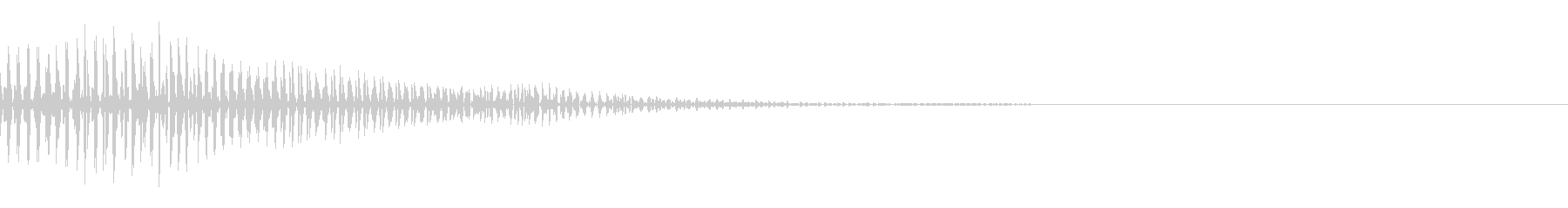 ぽいっ(ジャンプ/かわいい/ポップ)の未再生の波形