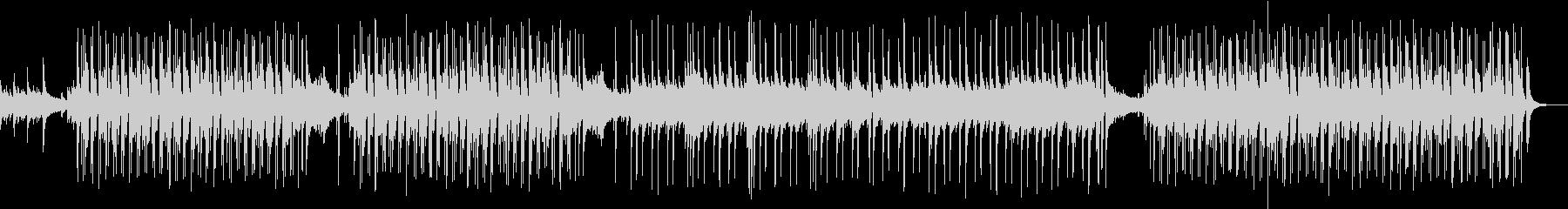 軽快なリズムと優しいフルートのボサノバの未再生の波形