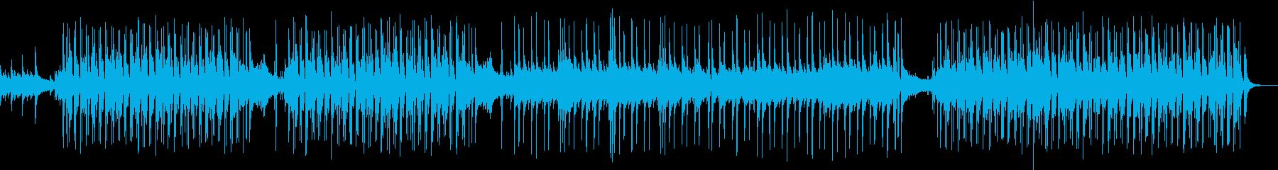 軽快なリズムと優しいフルートのボサノバの再生済みの波形