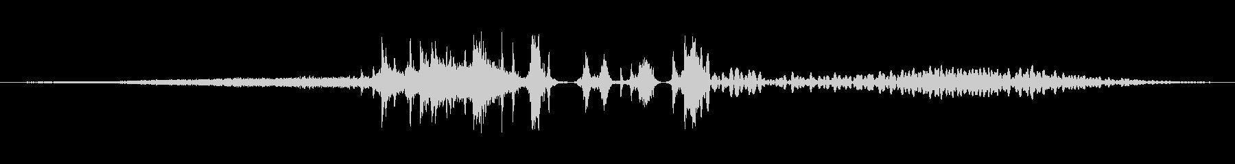 フリーズビー、メタルグローンガンコ...の未再生の波形