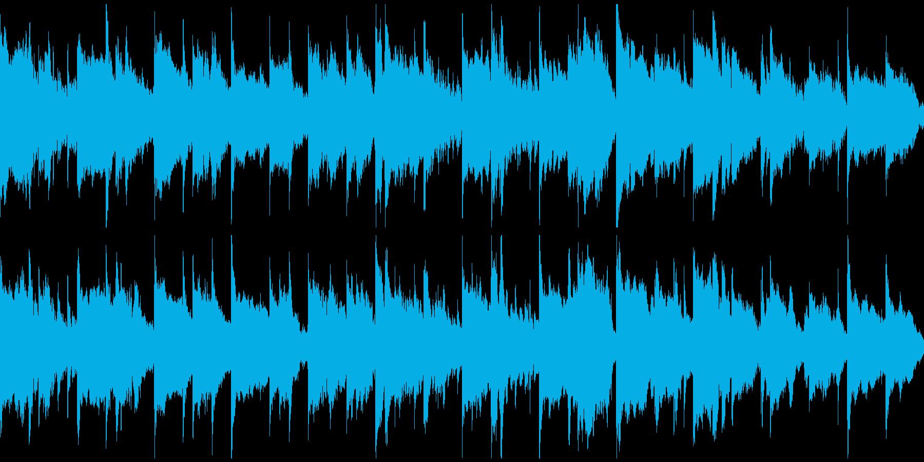 穏やかリラクゼーション ※ループ仕様版の再生済みの波形
