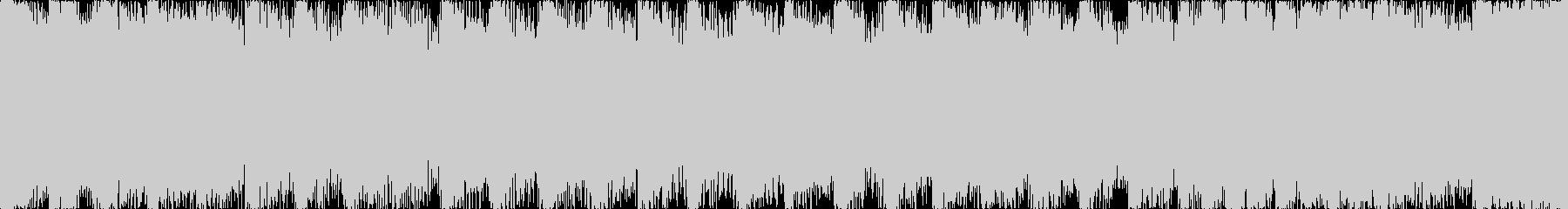 【ループF】ヘヴィーで攻撃的エレキギターの未再生の波形
