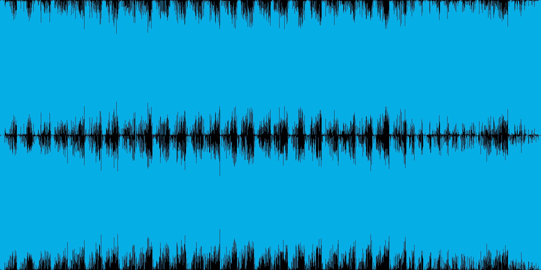 【ループF】ヘヴィーで攻撃的エレキギターの再生済みの波形