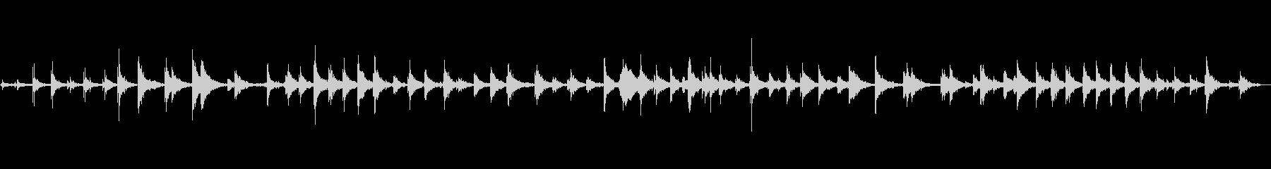 バーンのウォーキングバック&フォー...の未再生の波形