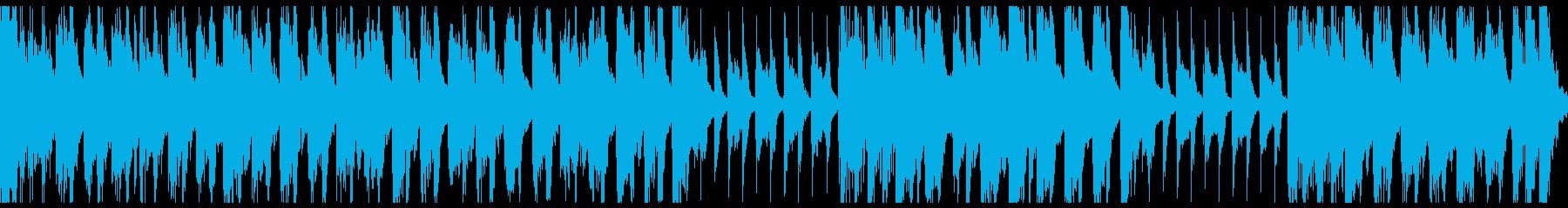 ホラーかわいいハロウィン行進曲(ループ)の再生済みの波形
