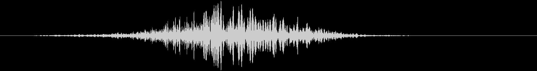 低成長のフーシン1の未再生の波形