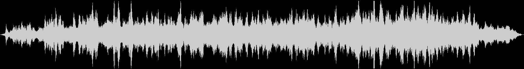 幻想的なヒーリングサウンドの未再生の波形