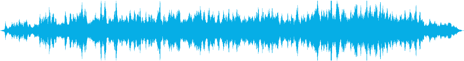 幻想的なヒーリングサウンドの再生済みの波形