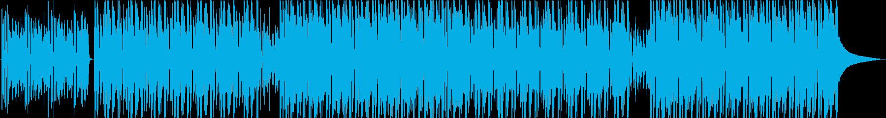 コンセプトムービー 前向き・わくわくの再生済みの波形