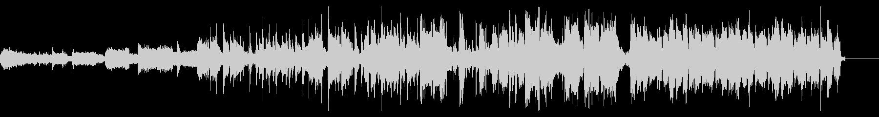 ファンキーなフルートがリードするCM音源の未再生の波形
