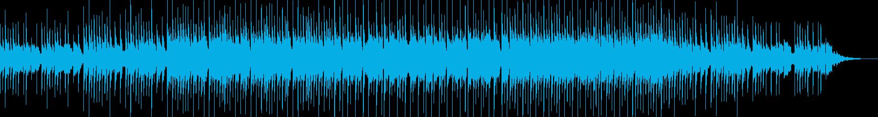 爽やかで可愛らしいポップスの再生済みの波形